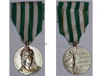 Portugal WW1 Medal Exemplary Conduct Silver Class Portuguese Republic 1910 WWI Great War 1914 1918