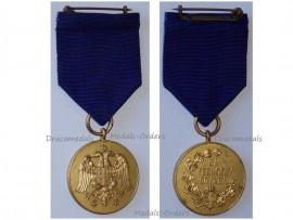 Serbia Zeal Zealous Service Military Medal Gold Balkan Wars 1912 1913 WW1 1914 1918 Serbian Decoration