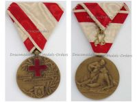 Serbia WW1 Bronze Medal Merit Serbian Red Cross 1914