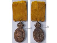 Spain Campaign Rif Morocco 1909 Military Medal Spanish Decoration King Alfonso XIII Colonial Africa