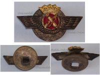 Spain Pilot Wings badge Spanish Air Force Military Insignia General Franco 1950s MINI