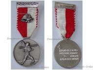 Switzerland Two Day March Medal Military Swiss Commemorative Decoration Award by Huguenin