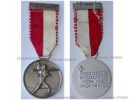Switzerland Swiss Two Day March Medal 1959 by Huguenin Freres