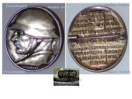 Switzerland WW1 National Donation Badge for the Support of the Soldiers Families by Frei Silver 800