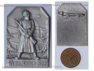 Switzerland WW2 Soldier's Badge Christmas 1939 by Paul Kramer
