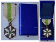 Medal Honor Merit Bronze Grade 1926 French Mandate Decoration by Artus Bertrand Boxed