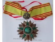 Tunisia Order Nichan Iftikhar Commander's Star Military Medal 1882 1902 Ali Muddat Bey Tunisian Decoration