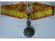 Tunisia WW1 Tunisia Order of Nichan Iftikhar Commander's Star Mohamed al Nasir Bey 1906 1922 by Artus Bertrand