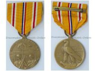 USA WWII Asiatic Pacific Campaign Medal 2nd World War WW2 1941 1945 Commemorative Military Decoration Award