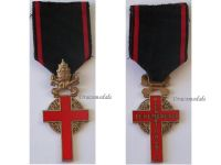 Vatican Benemerenti Bene Merenti Jubilee Gold Cross 1933 Faithful Service Pope Pius XI Clergy Medal Papal Decoration