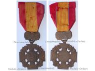 South Vietnam Gallantry Cross French Made Type of the 1950s