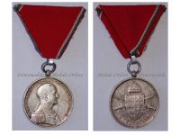 Hungary WW2 Bravery Military Medal Silver 1939 1944 Hungarian Decoration Admiral Horthy Axis Beran