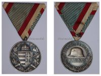 Hungary WW1 Commemorative Medal Pro Deo et Patria for Combatants in Bronze