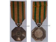 Luxembourg WW1 Order Crown Oak Bronze Medal Decoration Luxembourgish Award 1914 1918 Great War