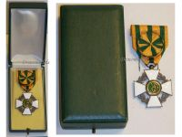 Luxembourg  WW1 Order Crown Oak Officer's Cross 1914 1918 WWI Luxembourgish Decoration Boxed Great War