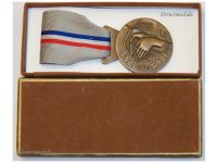 Luxembourg WW2 National Gratitude Medal for the Armed Forces and the Resistance Boxed