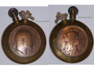 France Trench Art WW1 Petrol Lighter Edward VII Coin British Military French WWI 1914 1918 Great War Patriotic
