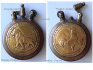 France Trench Art WW1 Lighter British Victory Lion Vimy Roeux Bullecourt 1917 French Rooster Defense Verdun WWI 1914 1918 Great War Patriotic Fleury Thiaumont