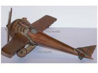 Russia Trench Art WW2 Polikarpov I-16 fighter Airplane Spanish civil war 1936 1939 General Franco Patriotic