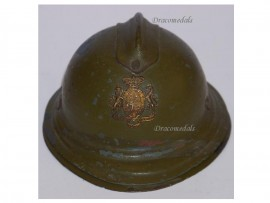 France Trench Art WW1 Adrian Helmet Military Inkwell French WWI 1914 1918 Great War Patriotic