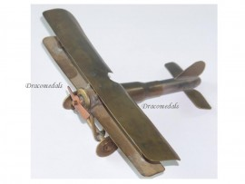 France Trench Art WW1 Aircraft Airplane Nieuport 17 Ni-17 Biplane Fighter 1914 1918 Great War Patriotic