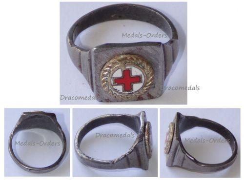 Austria Hungary WW1 Red Cross Ring