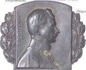 Austria Hungary WW1 Kaiser Karl Cap Badges