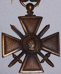 French War Cross (Croix de Guerre)