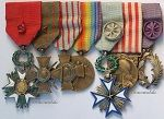 France WW1 Medal Sets & Groups (Great War 1914-1918)
