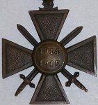 France WW1 War Cross (Croix de Guerre)