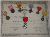 French Groups of Medals & Medal Bars