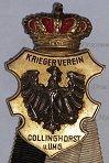 German & Prussian Veterans Associations Medals, Crosses, Badges & Stick Pins