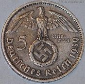 Weimar Republic - Nazi era (WW2) Coins