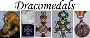 Comoros Royal Order Star Anjouan Knight Military Medal Decoration Mohamed Said Omar 1874  - Dracomedals Medals-Orders Medals Orders Decorations